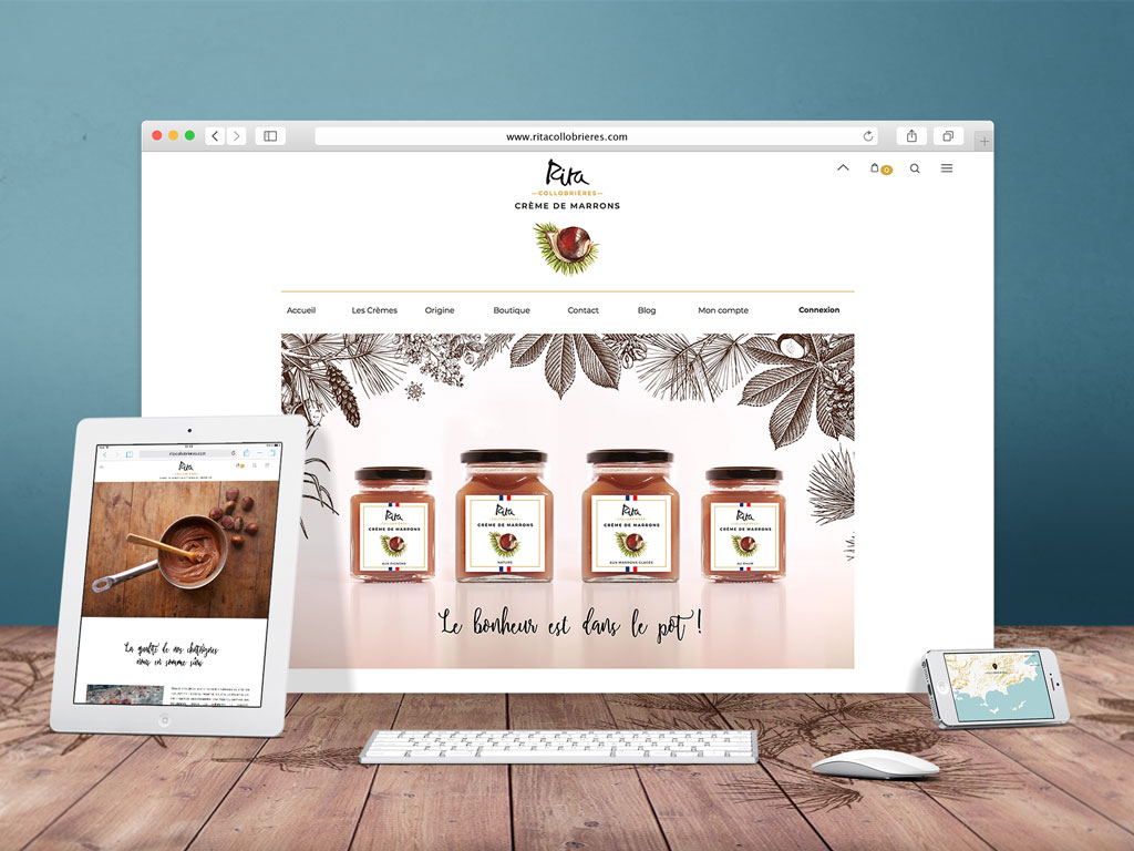 Site eCommerce, landing page
