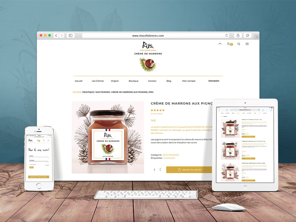Site eCommerce, boutique