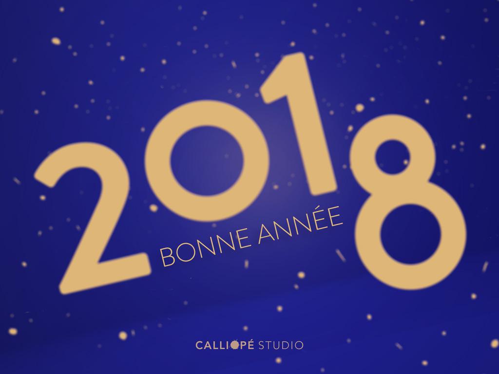 2018 Calliopé Studio Greeting card © Calliopé Studio, Marine Pavé 2018
