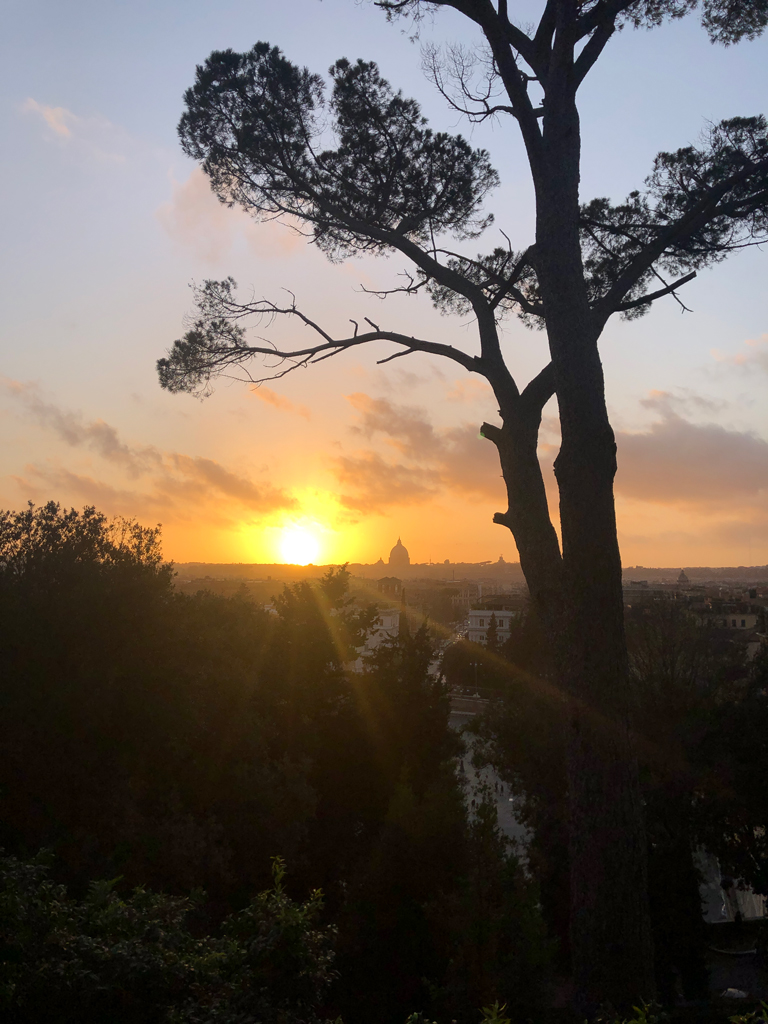 Giardini di villa Borghese, Roma, Italia © Marine Pavé 2019