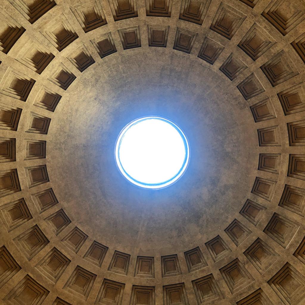 Pantheon, Roma, Italia © Marine Pavé 2019